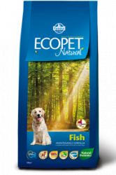 Сухой корм Ecopet natural fish maxi 12 кг