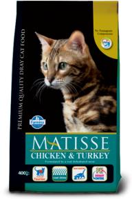 Сухой корм MATISSE CHICKEN&TURKEY 10 кг