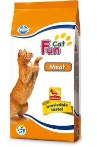 Сухой корм FUN CAT MEAT 2,4 кг