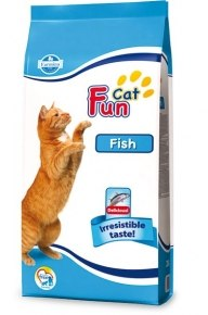 Сухой корм FUN CAT FISH 20 кг