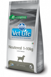 Сухой корм Vet Life Dog Neutered (1-10kg) 12 кг