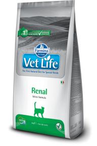 Сухой корм Vet Life Cat RENAL 2 кг