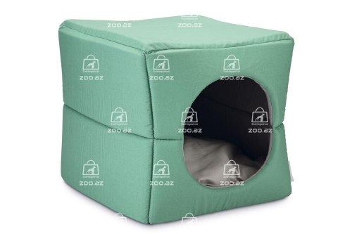 Домик Beeztees для кота Boxi зеленый 37*33*33см