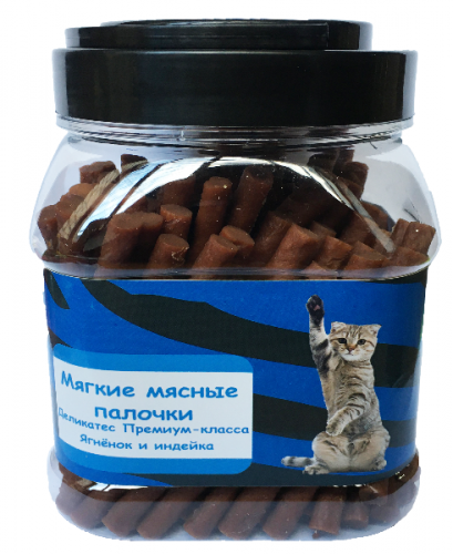 Мягкие палочки О-дог для кошек 500г