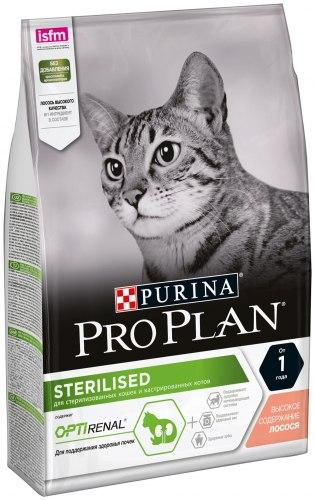Сухой корм Pro Plan для стерилизованных кошек треска/форель НА РАЗВЕС 100г