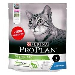 Сухой корм Pro Plan для стерилизованных кошек с кроликом НА РАЗВЕС 100г