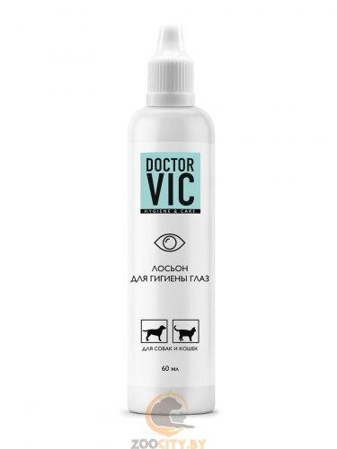 Лосьон Doctor VIC для гигиены глаз собак и кошек,60 мл