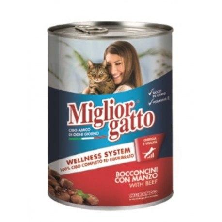 Консерва Miglior Gatto для кошек, лосось, 405г
