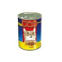Консерва Dax для кошек в соусе с курицей, 415г