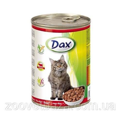 Консерва Dax для кошек с говядиной, 415г