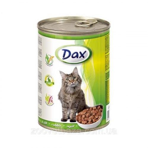 Консерва Dax для кошек с кроликом, 415г