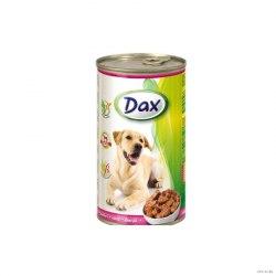Консерва Dax для собак с телятиной, 1240г