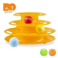 Игрушка 3 уровня, с мячиками, 24*19,5 см