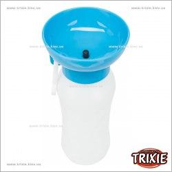 Поилка TRIXIE дорожная, пластик, 0.55л