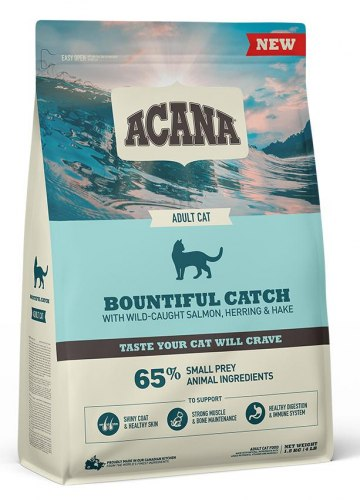 Сухой корм ACANA BOUNTIFUL CATCH Cat (Рыба) 4,5 кг