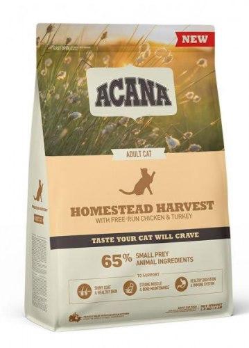 Сухой корм ACANA HOMESTEAD HARVEST Cat (Курица, индейка) 4,5 кг