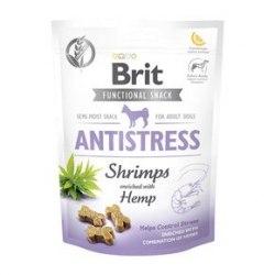 Лакомство Brit Care Dog Functional Snack Antistress с креветками (Эффект «Антистресс») 150 g