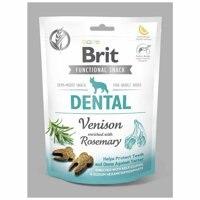 Лакомство Brit Care Dog Functional Snack Dental с олениной (Здоровье зубов) 150 g