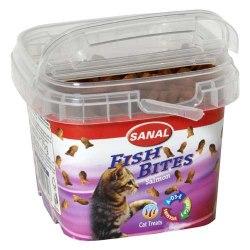 Подушечки Sanal Fish Bites Salmon, 75г