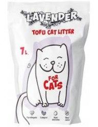 Наполнитель For CATS Tofu Natural, комкующийся c ароматом лаванды, 7л