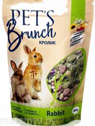 Рацион Pet's Brunch для кроликов, 400г