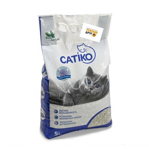 Наполнитель Catico с ароматом лаванды, 15 кг/20л