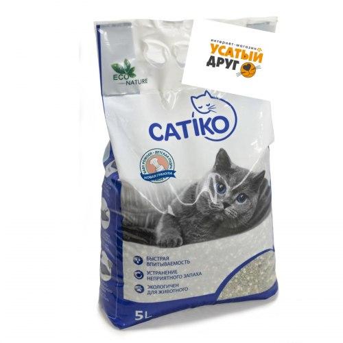 Наполнитель Catico с ароматом десткой пудры , 15 кг/20л