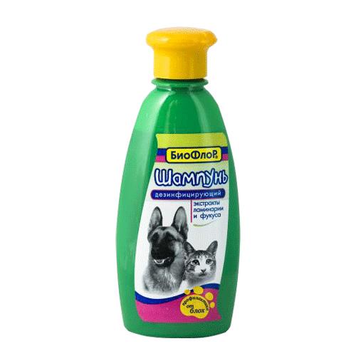 Шампунь БиоФлор дезинфицирующий, для собак и кошек, 245 мл