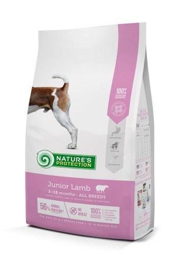 Сухой корм Natures Protection Junior Lamb д/щенков (2-18 мес) всех пород с ягненком НА РАЗВЕС 100г