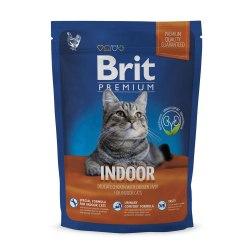 Сухой корм Brit 1,5кг Premium Cat Indoor