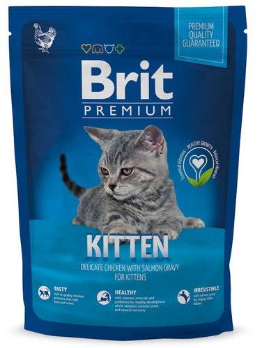 Сухой корм Brit 1,5кг Premium Cat Kitten