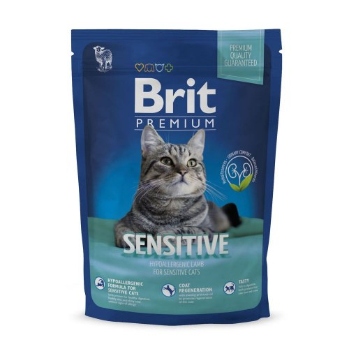Сухой корм Brit 1,5кг Premium Cat Sensitive