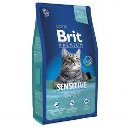 Сухой корм Brit 8кг Premium Cat Sensitive