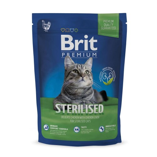 Сухой корм Brit 1,5кг Premium Cat Sterilised