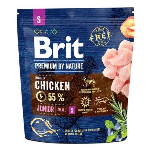 Сухой корм Brit 1кг Junior S Premium by Nature