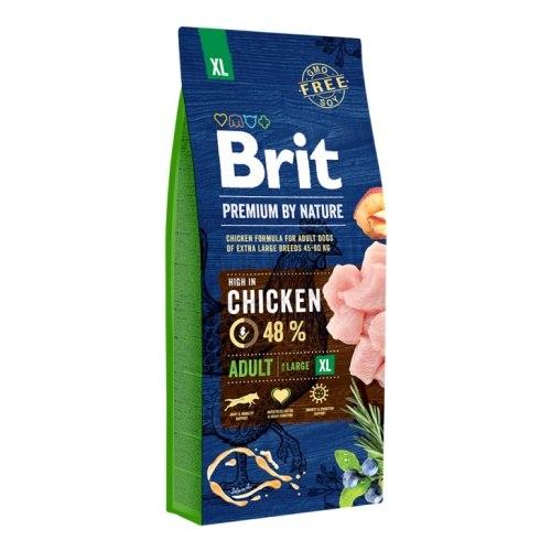 Сухой корм Brit 15кг Adult XL Premium by Nature