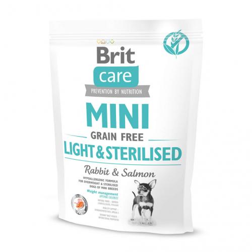 Сухой корм Brit 400г Care MINI GF Light & Sterilised
