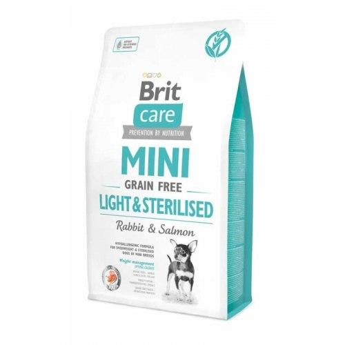 Сухой корм Brit 2кг Care MINI GF Light & Sterilised