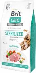Сухой корм Brit 7кг Care Cat GF Sterilized Urinary Health