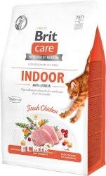Сухой корм Brit 2кг Care Cat GF Indoor Anti-stress