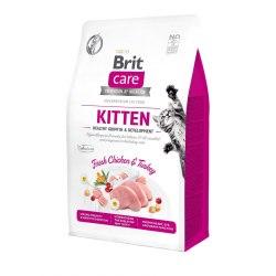 Сухой корм Brit 400г Care Cat GF Kitten Healthy Growth & Development
