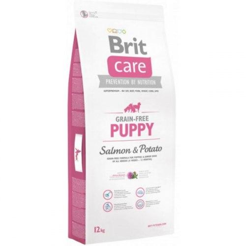 Сухой корм Brit 12 кг Care Puppy Salmon & Potato