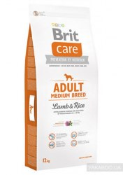 Сухой корм Brit 3кг Care Adult Medium Breed
