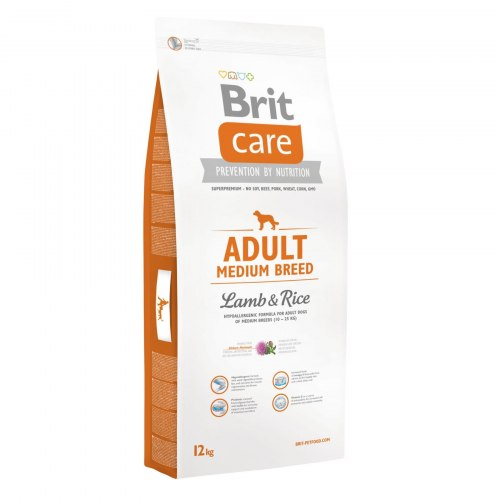 Сухой корм Brit 12кг Care Adult Medium Breed
