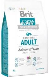 Сухой корм Brit 3кг Care Salmon &Potato