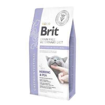 Сухой корм Brit 2 кг Cat VDC Gastrointestinal Harring & Pea