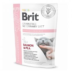Сухой корм Brit 400г Cat VDC Hypoallergenic Salmon & Pea