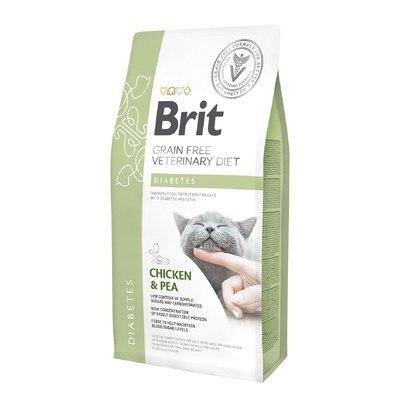 Сухой корм Brit 2 кг Cat VDC Diabetes Chicken & Pea