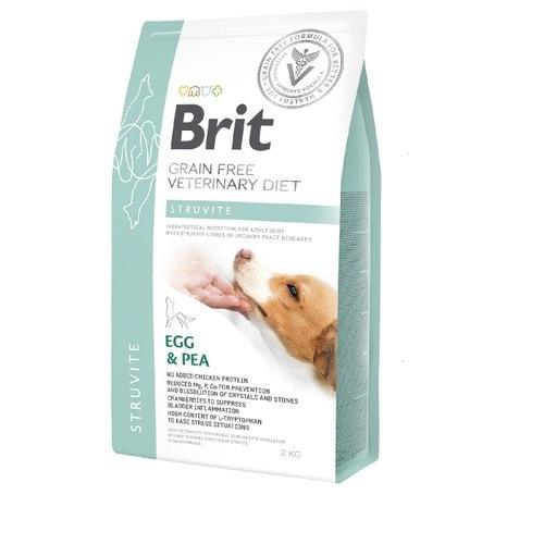 Сухой корм Brit 2кг VDD Struvite Egg & Pea