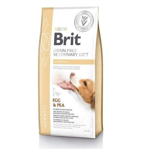 Сухой корм Brit 2кг VDD Hepatic Egg & Pea